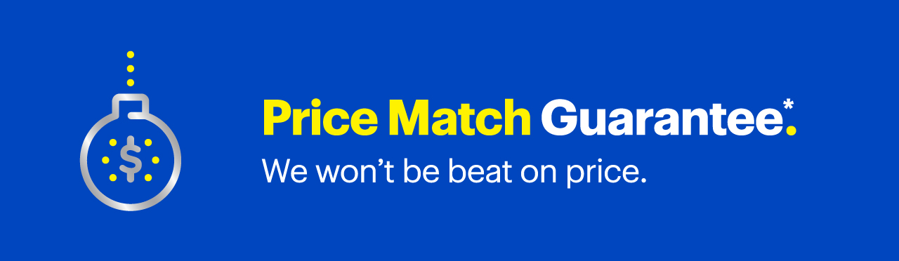Price Match Guarantee Reference disclaimer