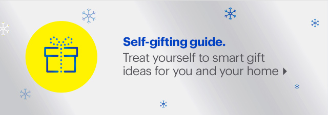 Go ahead, you deserve it. This holiday season, don't forget to select something nice for yourself.