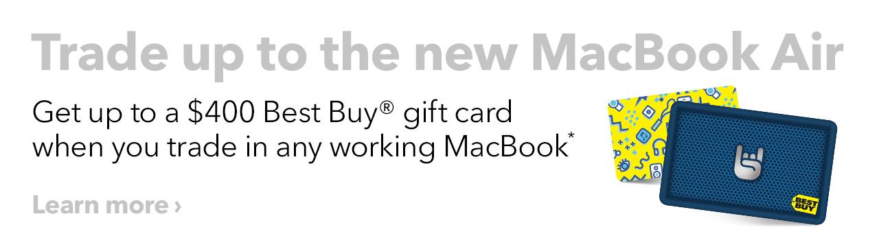 MacBook Air Trade-in