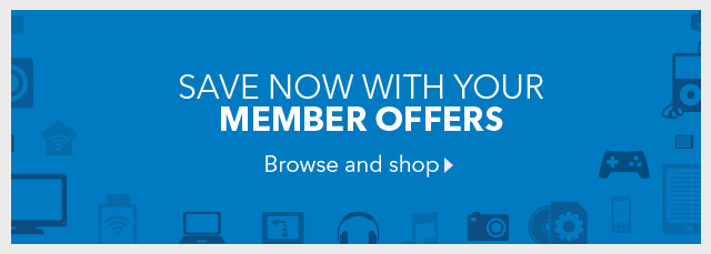 SAVE NOW WITH YOUR MEMBER OFFERS - Browse and shop